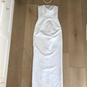 Special Occasion Silver Gown